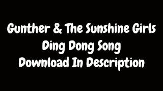 Ding Dong Song - Günther & The Sunshine Girls