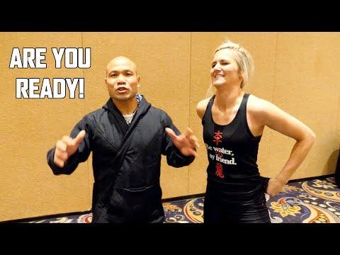 Wing Chun Master Meet JKD Woman | Master Wong