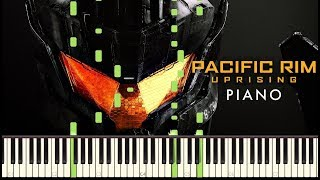 Pacific Rim Uprising - Trailer #1 Music | Piano Tutorial
