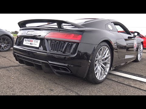 Audi R8 V10 Plus with Capristo Exhaust System!