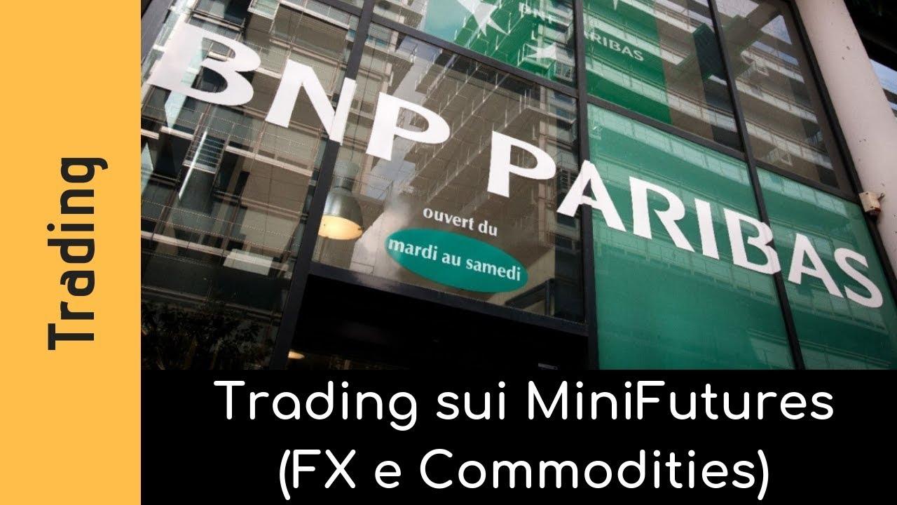 Operatività in tempo reale su Mini Future su Commodity e FX
