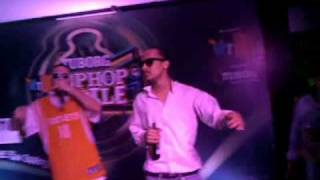 D Soldierz Performing Live at Tuborg Vh1 Hip Hop Hustle(MIMS) - Shine On