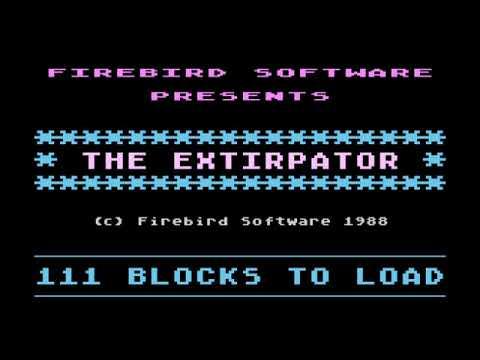 Atari - Truco para jugar The Extirpator con música