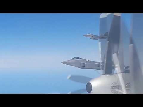 F-22 Raptors intercepted Russian Tu-95 bombers