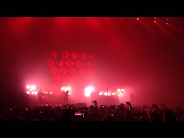 Vídeo de un concierto en el Palacio de Deportes de Logroño.