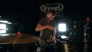 Skillet - Salvation - Drum Cover - Brooks (feat. Jen Ledger of Skillet)