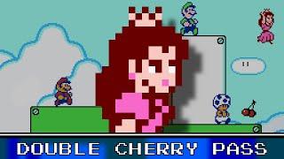 Double Cherry Pass 8 Bit - Super Mario 3D World