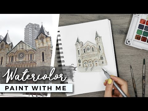 PAINT WITH ME | Watercolor Painting from Photographs!