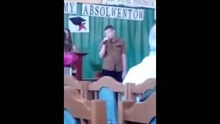 Śpiew Susziego na zakończenie roku szkolnego  2015/2016