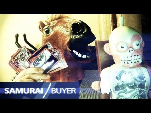 JAPANESE TOYS AND MASKS - Samurai Buyer Unboxing