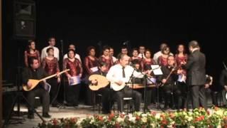 Uşak Defterdarlığı Eşme Konseri 2012 (2) Ekerm EROL-Beyaz Giyme Toz olur