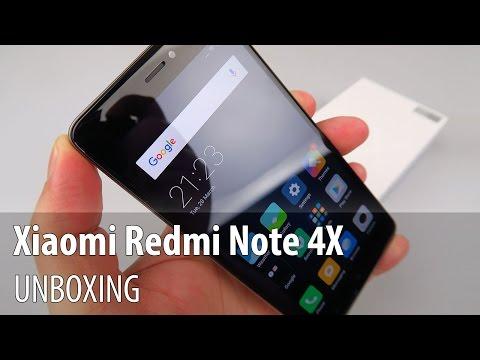 Xiaomi Redmi Note 4X Unboxing în Limba Română