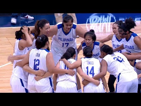 Final Full Game: Philippines vs Thailand | 5X5 Basketball W | 2019 SEA Games