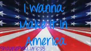 Victorious Cast ft. Victoria Justice - Make It In America ( LYRICS )