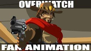 "Overwatch Animated Short   ""Jesse McCree"""