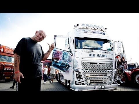 Volvo Trucks - The Hollywood blockbuster of a truck to die (hard) for! - ?Welcome to my cab ? light?