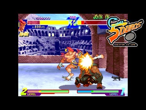 "[BIS] STREET FIGHTER ALPHA: WARRIORS' DREAMS (ADON) - ""CON 5 DUROS"" Episodio 85 (1cc) (CTR)"
