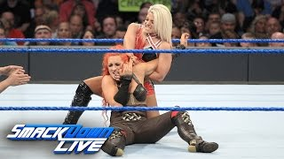 Becky Lynch vs. Alexa Bliss: SmackDown Live, Aug. 23, 2016