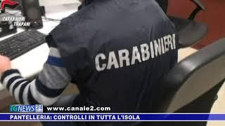 PANTELLERIA: CONTROLLI IN TUTTA L'ISOLA