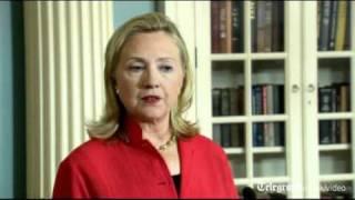 Hillary Clinton: 'Road to Palestine not through UN'