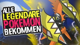 Alle Legendäre Pokemon Bekommen !!   Fundorte & Anleitung !!   Pokemon Sonne & Pokemon Mond