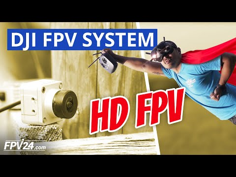 DJI FPV System REVIEW – Einrichtung, Test und Unboxing (HD FPV)