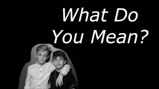 What Do You Mean? - Justin Bieber (Bars and Melody Cover)