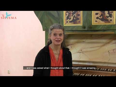 Helena Wessman about the importance of El Sistema in Sweden
