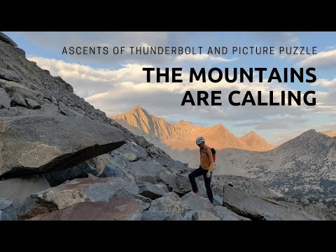 Alpine Summits and SOTA - Thunderbolt and Picture Puzzle Peaks
