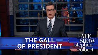 Trump's Dumb 'Hall Of Presidents' Request