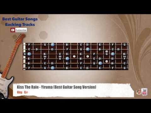 Kiss The Rain - Yiruma Guitar Backing Track with scale Chords - Chordify