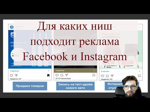 Для каких ниш подходит реклама Facebook и Instagram