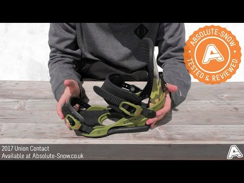 2016 / 2017 | Union Contact Snowboard Bindings | Video Review