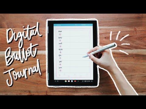 DIGITAL Bullet Journaling + Productivity Apps & Tips!