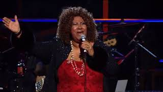 """Aretha Franklin Performs """"Don't Play That Song (You Lied)"""" at the 25th Anniversary Concert"""