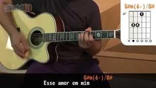 videoclase Esse Amor em Mim (aula de violão completa)