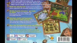 Crash Bash Music : Credits