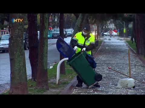 NTV | NTV ekibi salgında da işlerinin başında olanlarla 1 gün geçirdi