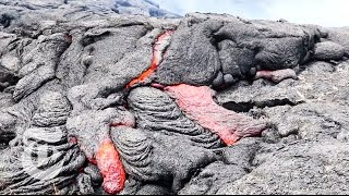 Living in Lava's Path: A Slow Motion Disaster | The New York Times