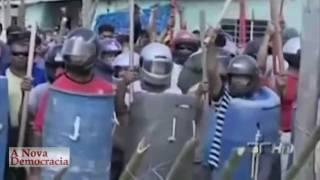 Ocupação Pinheirinho resiste bravamente a criminoso despejo em São José dos Campos, SP