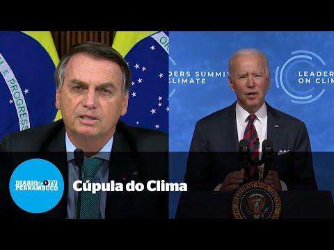 Em Cúpula do Clima, Bolsonaro promete neutralidade de carbono até 2050