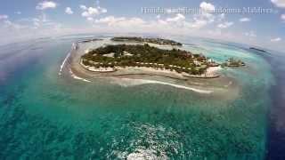 Euro-Divers Kandooma Resort Maldives - Aerial Views