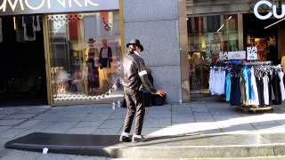 MJ impersonator in Oslo - Billie Jean