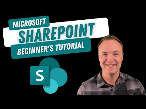 How to use Microsoft SharePoint to Create a Team Site