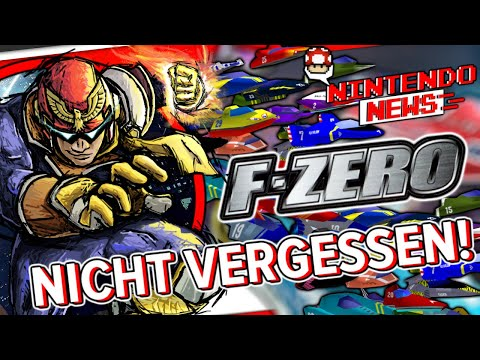 Nintendo hat das Interesse an F-Zero nicht verloren ... - NintendoNews
