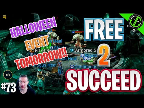 Getting Ready For Halloween Event TOMORROW | Free 2 Succeed - EPISODE 73