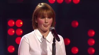 Josephine zingt 'All about that bass' | Blind Audition | The Voice van Vlaanderen | VTM