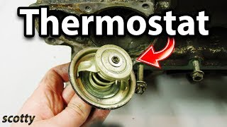 How to Replace a Bad Thermostat in Your Car width=