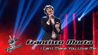 Francisco Murta - I can't make you love me (Bon Iver) | Gala Final | The Voice Portugal