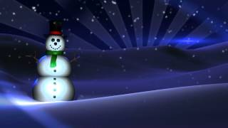 Free Looping Animation - Snowman